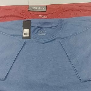 Men's Short Sleeve Crew Neck T-Shirts 2-Pack NWT